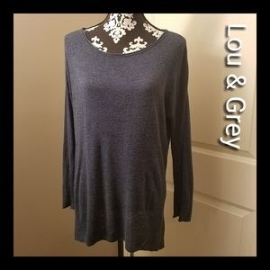 Lou & Grey lightweight sweater, size large